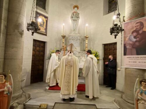 Celebrazione di San Giuseppe 2021